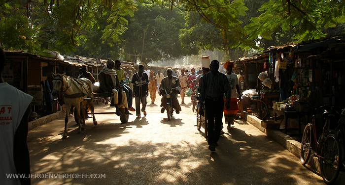 Gambia market