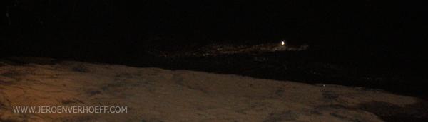Senegal Niokolo crocodile night