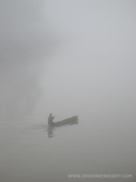 Senegal niokolo fisherman
